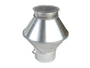 Deflektorhaube strömungsoptimiert, Ø 315 mm.