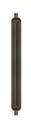 Strahlrohr ST-007 mit schwarzer umspritzter Isolierung 1200 mm