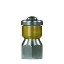 """Rotations-Rohrreinigungsdüse ST-49.1 ohne Frontbohrung 1/4"""" IG, Ø = 19 mm, D 05"""