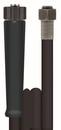 Hochdruckschlauch für Schlauchaufroller, schwarz DN 08, 1SN, 25 m