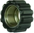 Überwurfmutter schwarz für Waschgerätepressnippel M22 IG, Ø = 16,4 mm