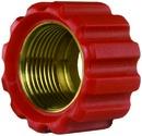 Überwurfmutter rot für Waschgerätepressnippel M22 IG, Ø = 16,4 mm