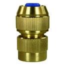 """Wasserschnellkupplung 3/4"""" IG Messing mit Spannschraube für Schlauch 16-19 mm"""