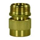 """Wasserschnellkupplung 3/4"""" AG Messing, flachdichtend"""