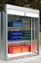 Rollladen für Sicherheitsraumcontainer, 1800 x 1850 mm (BxH)