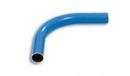 Druckluftrohr Bogen 90° Aluminium blau, Typ DN 15x12
