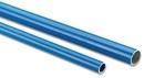 Druckluftrohr Aluminium blau, Typ DN 40x37