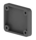 Distansstück für Druckluftsteckdose R-75280 + R-75281 Dicke: 10 mm