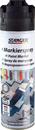 Markierspray Langzeit schwarz, 500 ml.