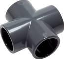 PVC-U Kreuz-Stück 20 mm innen-Ø, PN-16