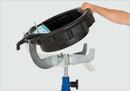 Universalhalterung mit Auffangwanne passend für die meisten Getriebeheber