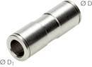 Steckanschluss IQS-MSV gerade 8 mm - 8 mm
