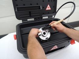 Kleinteilereiniger Modell RKR 10 tragbar, Kunststoff