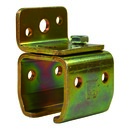 Schienenhalter für Wandbefestigung 40 mm, Stahl verzinkt