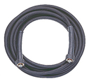 Hochdruckschlauch schwarz, DN 08, 2SC, 400 bar, 10 m, M22x1,5 IG - M22x1,5 IG