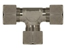 Schneidringverschraubung Typ T 24° Stahl verzinkt 12 mm S