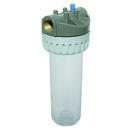 """Wasserfilter Kunststoff 3-teilig, hellblau, 1"""" IG, ohne Filtereinsätze"""