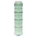 Filtereinsätze Kunststoff 120 micron zu Filter orange, grün und rot