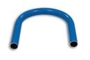Druckluftrohr Bogen 180° Aluminium blau, Typ DN 15x12