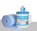 Wipex Work M-Rolle blau Rolle à 200 Tücher 24 x 38 cm, ca. 85 gr/m2
