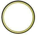 OP O-Ring 54 HNBR gelb oder grün, für Oel