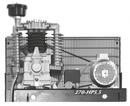 Kompressor-Einheit 2-Zylinder Modell Industrie PRB 7.5 TST